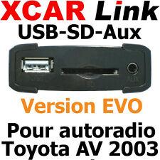 XCARLink USB-SD EVO TOYOTA Av 2003 Yaris,Auris,Corolla,Rav4,Avensis,Land Cruiser