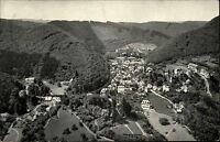 Bad Bertrich Rheinland-Pfalz AK 1954 Panorama Gesamtansicht gelaufen frankiert