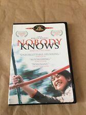 Nobody Knows, DVD, 2005, Japanese Movie.