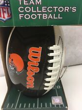 Cleveland Browns Wilson Junior Size NFL Team Collector's Football Brand New