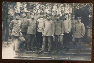 Foto AK - Offiziere in Schaulen Šiauliai Litauen - 1.WK