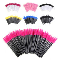 5~50pcs Colorful Disposable Mascara Wands Eyelash Brush Applicator Extension