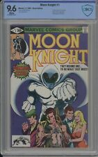 MOON KNIGHT 1 CBCS / CGC 9.6 WHITE 1980 1ST MOON KNIGHT IN OWN TITLE Disney+