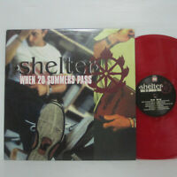 Shelter – When 20 Summers Pass LP 2000 US ORIG RED VINYL Victory AGNOSTIC FRONT
