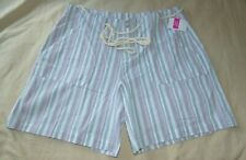 Imagin8 Women/'s Sport Shorts Size Medium Pink with white Mesh Inset on sides NEW
