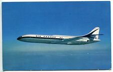 CARTE POSTALE AVIATION AIR FRANCE CARAVELLE