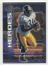 1999 Upper Deck SPx - Heroes - #H10 - Jerome Bettis - Pittsburgh Steelers