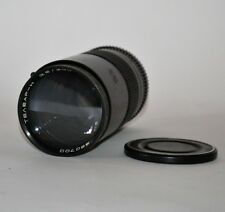 RUSSIAN USSR TELEAR-H (TELEAR-N) f3.5/200 TELEPHOTO LENS NIKON mount, FOR PARTS