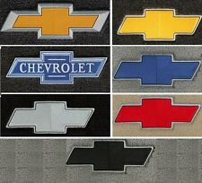 Lloyd Mats Chevrolet Bowtie Velourtex Front Floor Mats (1953 & Up)