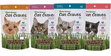 Pet Greens Cat Craves Semi-Moist Treat Asst Flavor 3oz  Free Shipping