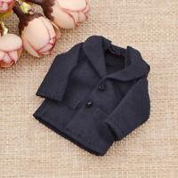 Kawaii Dark Blue 1/12 Scale Mini Dollhouse Miniature Clothes Jacket Coat Tops