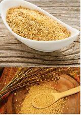 Graines De Lin En Poudre Fine sol or foncé Froide Blanchi 1 kg de lin sans glute...