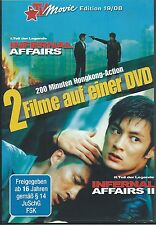 INFERNAL AFFAIRS + INFERNAL AFFAIRS II - TVMOVIE EDITION 19/08 -2 AUF EINER DVD