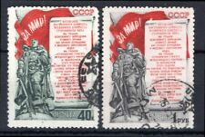 Russia, 1951, Stockholm Peace Appeal, set of 2 (SG 1689+90), used