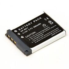 Batterie 3.7V 680mAh pour Sony DSC-G1 G3 H50 T2 T200 2000 300 500 70 90 900 TX1