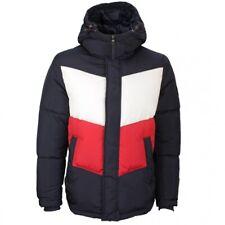 Tommy Hilfiger señores chaqueta invierno bloque color azul mw0mw15805 dw5 Desert Sky