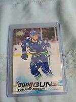 2019-20 Upper Deck Guillaume Brisebois Young Guns Rookie #495 Canucks RC