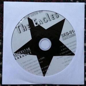 THE EAGLES KARAOKE CDG DISC GREATEST HITS DESPERADO MUSIC CD+G SONGS SUPERSTAR
