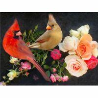 Diamond Painting Kits Embroidery Birds Flowers 5D DIY Cross Stitch Home Decor