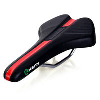 TOMOUNT Bike Cycling Bicycle Comfort Soft Riding SEAT Pro Road SADDLE Black RED