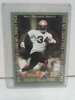 1999 Topps NFL Draft Pick Rookie ~ RICKY WILLIAMS #329 RC New Orleans Saints