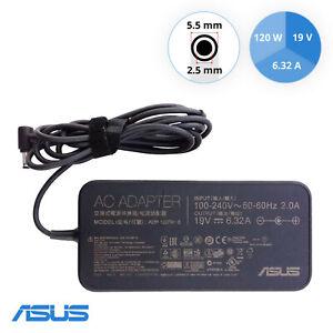 Original ASUS ADP-120RH B 19V 6.32A 120W AC Power Adapter 5,5 mm x 2,5 mm