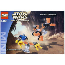 LEGO SET 4485 - MINI SEBULBA'S & ANAKIN'S PODRACERS (Star Wars) with box & instr