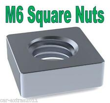 Stainless Steel SQUARE Nuts M6 *50 or 100*