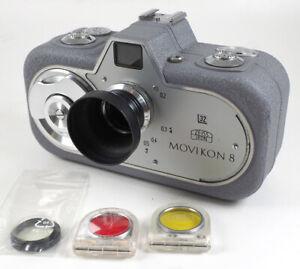 Zeiss Ikon Movikon 8 eine 8mm Schmalfilm Kamera mit Federmotor 1952