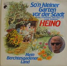 """HEINO SI`N KLEINER GARTEN VOR DER STADT (Ville) EMI 1C 006-46397 Unique 7"""" I780"""