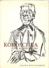 KOKOSCHKA Oskar, Oskar Kokoschka. Zum 80. Geburtstag