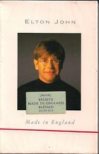 Elton John Made In England Cassette Tape NEW SEALED Rare Out Of Print Believe