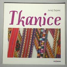 BOOK Slovak Folk Costume woven sash belt tablet card weaving peasant gypsy wool