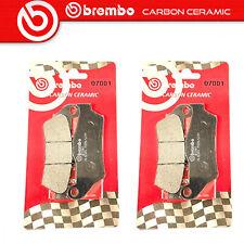 Brembo 07001CC Pastiglie Freno Carbon Ceramic - Nere, Set di 2