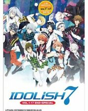 Idolish 7 Anime DVD (Vol.1-17 end + Special) with English Subtitle