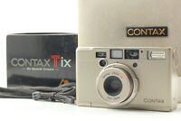 [N MINT in Box] Contax Tix Carl Zeiss 28mm f2.8 APS Film Camera From Japan #341