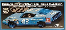 Richard Petty 1969 Ford Torino Talladege 100th Nascar Victory #43 WIX Filters