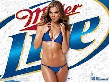 Miller Lite Beer Bikini Girl Refrigerator Magnet