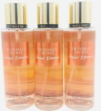 3 Victoria's Secret Fragrance Perfume Mist For Women Amber Romance 8.4 oz
