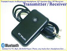 Bluetooth Transmitter Receiver wireless Music Steamer 4 TV MP3 to Speaker Box BT
