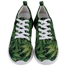 New Weed Marijuana Leaf Men's Lightweight Sports Shoes Free Shipping