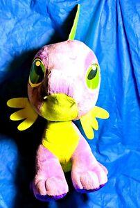 "DRAGON MY LITTLE PONY Large Stuffed Plush SPIKE Purple  2013 Hasbro Doll 18"""