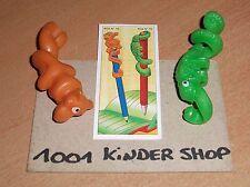 KINDER K04 N°74 75 AFFE - CAMELEON - SET + 1 BPZ