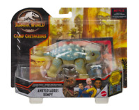 Jurassic World Attack Pack Ankylosaurus Bumpy Figure Camp Cretaceous Mattel