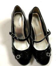 Nine West Black Girls Shoes Kids Size 5M