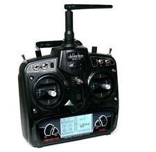Radiocomando Walkera Devo 10 Black 2.4Ghz 10 Canali - Senza Ricevente