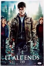 ALEXANDRE DESPLAT SIGNED HARRY POTTER AND THE DEATHLY HOLLOWS 2 12x18 PHOTO PSA