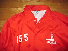 Rare Augusta NEW ENGLAND PATRIOTS - GILLETTE Stadium (MED) PARKING Jacket