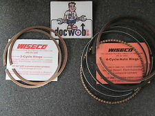 KAWASAKI KX500 1988-2004 new wiseco piston ring set 87.5mm 1.5mm oversize 3445TD