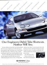 1994 Toyota Celica - engineers - Vintage Advertisement Ad A28-B